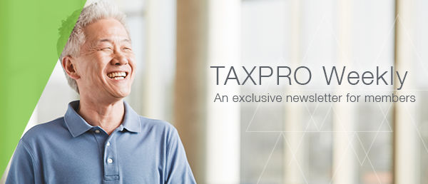NATP TAXPRO Weekly Banner